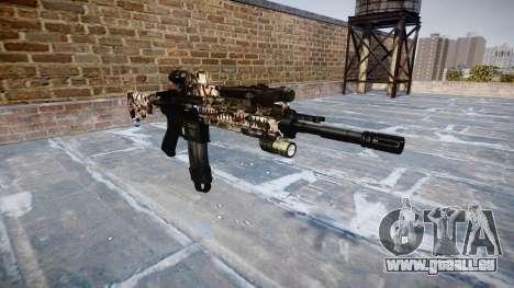 Automatische Gewehr Colt M4A1 zombies für GTA 4