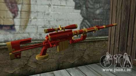 Sniper Rifle from PointBlank v1 für GTA San Andreas zweiten Screenshot