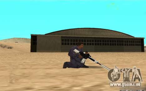 Chrome Weapon Pack by SampHack pour GTA San Andreas deuxième écran