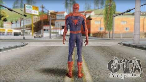 Red Trilogy Spider Man für GTA San Andreas zweiten Screenshot