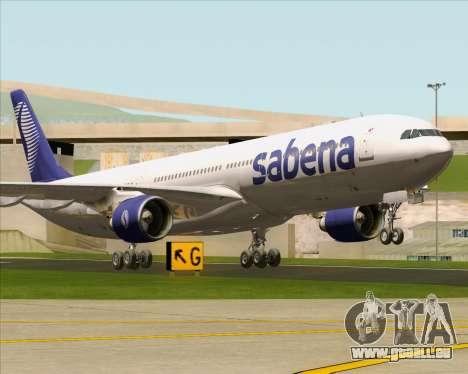 Airbus A330-300 Sabena für GTA San Andreas linke Ansicht