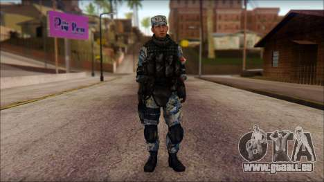 MG from PLA v1 pour GTA San Andreas