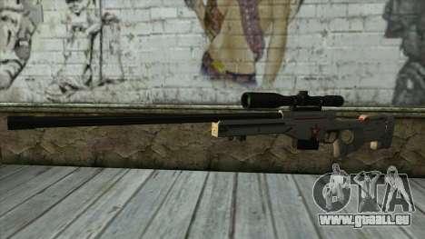 Sniper Rifle from PointBlank v2 für GTA San Andreas