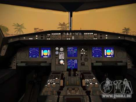 Airbus A340-600 South African Airways pour GTA San Andreas roue