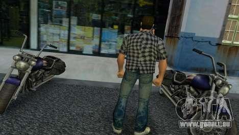 Kockas polo - szurke T-Shirt GTA Vice City pour la deuxième capture d'écran