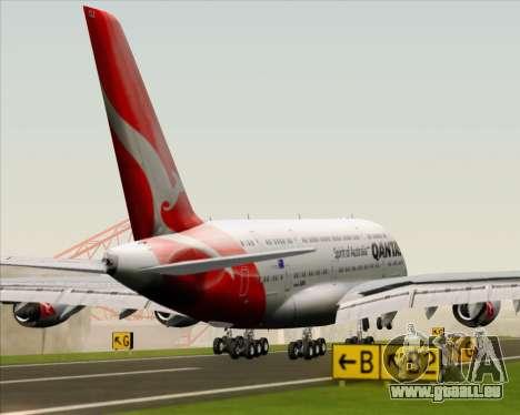 Airbus A380-841 Qantas pour GTA San Andreas moteur