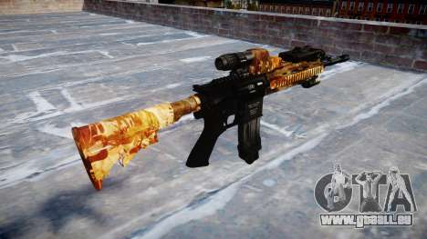 Fusil automatique Colt M4A1 élite pour GTA 4 secondes d'écran
