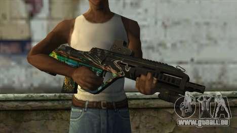 AUG A3 from PointBlank v3 pour GTA San Andreas troisième écran