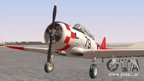 North American T-6 TEXAN NZ1079 pour GTA San Andreas