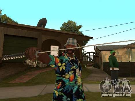Poser gangster pour GTA San Andreas deuxième écran