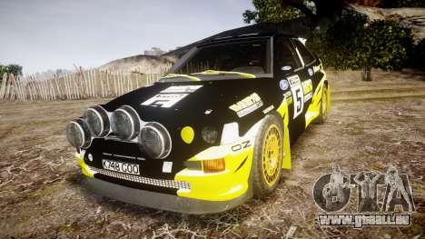 Ford Escort RS Cosworth 2.0 Vespas Team pour GTA 4