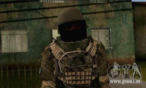 Task Force 141 (CoD: MW 2) Skin 9 pour GTA San Andreas troisième écran