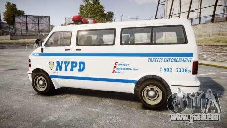 GTA V Bravado Youga NYPD für GTA 4 linke Ansicht