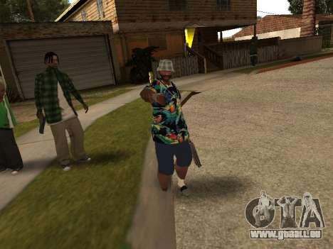 Poser gangster pour GTA San Andreas