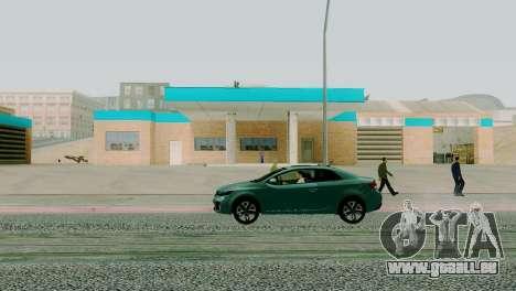 Neue Texturen garage in San Fierro für GTA San Andreas dritten Screenshot
