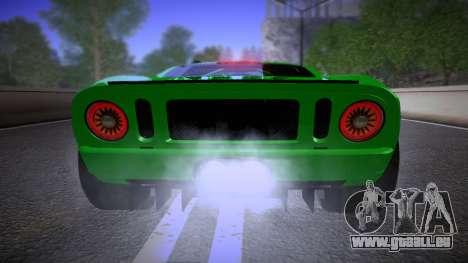 Ford GT 2005 Road version für GTA San Andreas Innenansicht