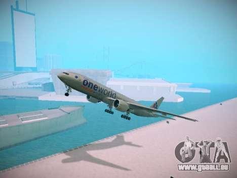 Boeing 777-223ER American Silver Bullet pour GTA San Andreas