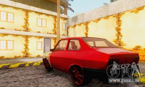 Dacia 1310 Sport Tuning v2 pour GTA San Andreas vue de droite