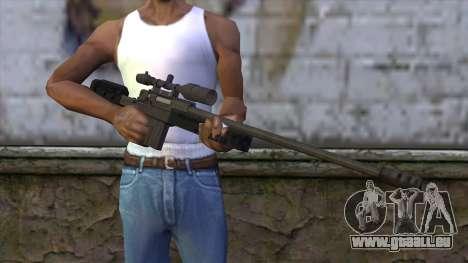GTA 5 Sniper Rifle für GTA San Andreas dritten Screenshot