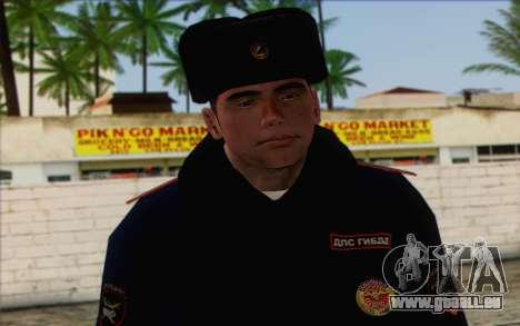 DPS de la Peau 1 pour GTA San Andreas troisième écran