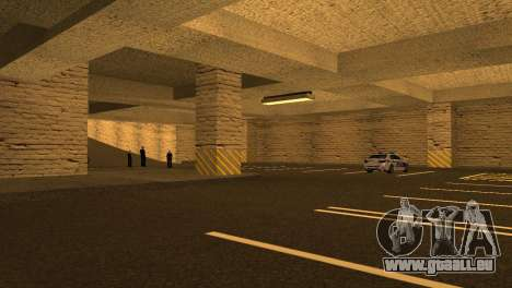 De nouvelles textures Parking dans la LSPD pour GTA San Andreas sixième écran
