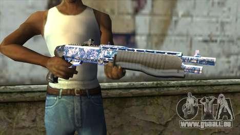 Graffiti Shotgun v2 für GTA San Andreas dritten Screenshot