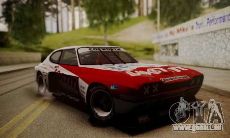 Ford Capri RS Cosworth 1974 Skinpack 3 pour GTA San Andreas