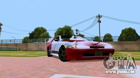Elegy OnDrift pour GTA San Andreas laissé vue