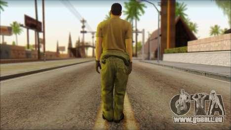 GTA 5 Soldier v1 pour GTA San Andreas deuxième écran