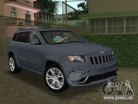 Jeep Grand Cherokee SRT-8 (WK2) 2012 für GTA Vice City Innenansicht