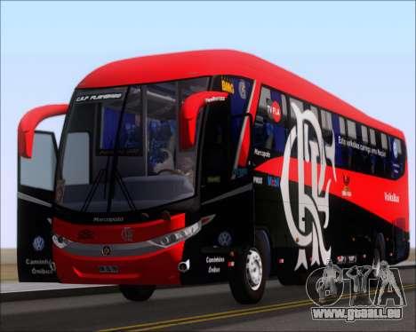 Marcopolo Paradiso 1200 G7 4X2 C.R.F Flamengo pour GTA San Andreas vue intérieure