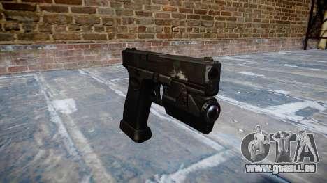 Pistolet Glock 20 fantômes pour GTA 4