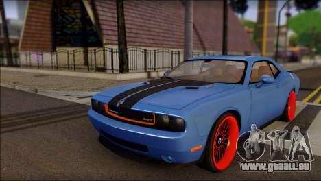 Dodge Challenger SRT8 Stance für GTA San Andreas