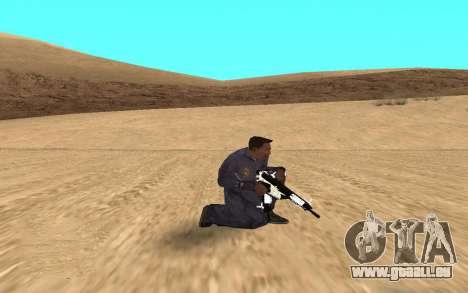 Chrome Weapon Pack by SampHack pour GTA San Andreas troisième écran