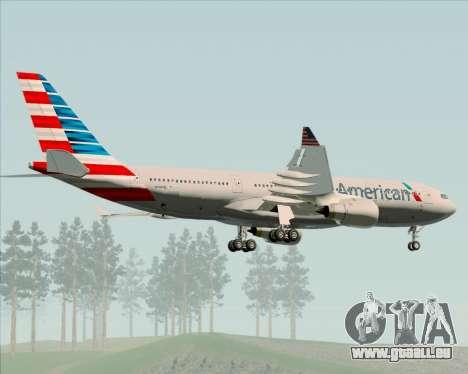 Airbus A330-200 American Airlines für GTA San Andreas Seitenansicht