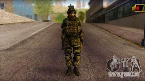 Soldaten der EU (AVA) v1 für GTA San Andreas