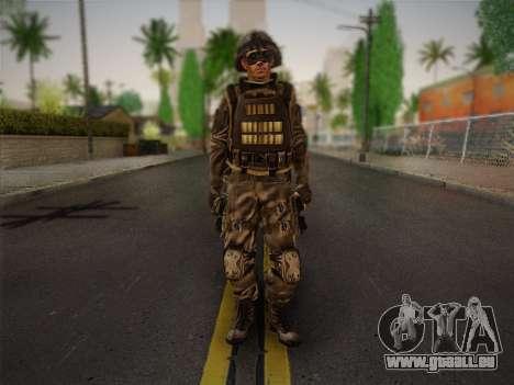 Боец СВР (Tom Clancy Splinter Cell) v1 pour GTA San Andreas