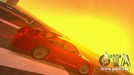 Nissan Silvia S14 RB26DETT Black Revel pour une vue GTA Vice City de la droite