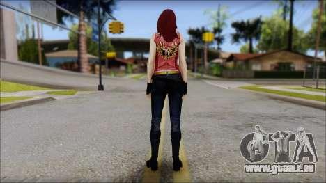 Claire Aflterlife Skin für GTA San Andreas zweiten Screenshot
