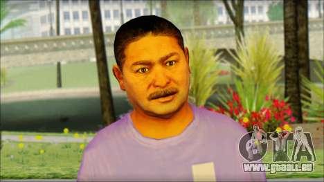 GTA 5 Ped 21 für GTA San Andreas dritten Screenshot