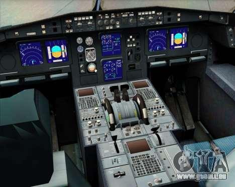 Airbus A340-313 Philippine Airlines für GTA San Andreas Innen