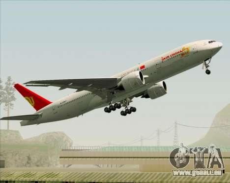 Boeing 777-200ER Air China für GTA San Andreas Seitenansicht