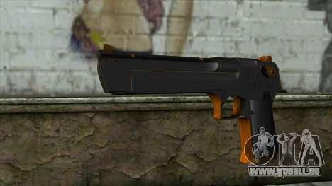 Nitro Desert Eagle für GTA San Andreas
