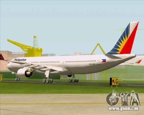 Airbus A330-300 Philippine Airlines für GTA San Andreas rechten Ansicht
