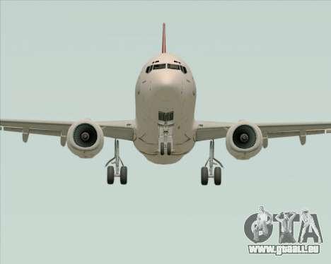 Boeing 737-838 Qantas pour GTA San Andreas vue intérieure