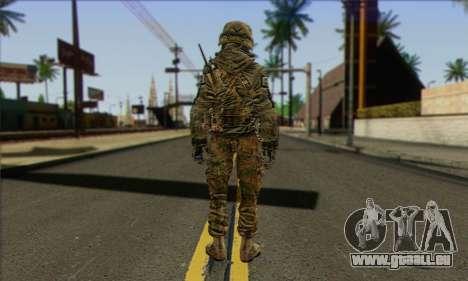 Task Force 141 (CoD: MW 2) Skin 11 pour GTA San Andreas deuxième écran