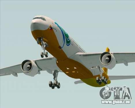 Airbus A330-300 Cebu Pacific Air für GTA San Andreas Seitenansicht
