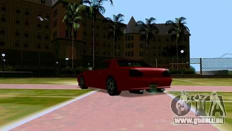 Elegy OnDrift pour GTA San Andreas vue arrière