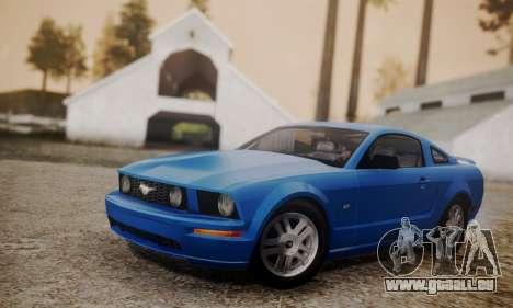 Ford Mustang GT 2005 v2.0 für GTA San Andreas