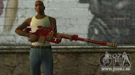 Sniper Rifle from PointBlank v1 für GTA San Andreas dritten Screenshot